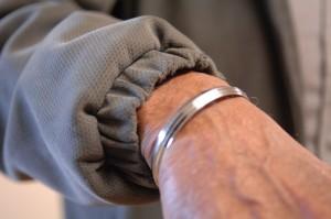 Sikh bracelet detail 2