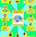 Mini Golden Rule Poster